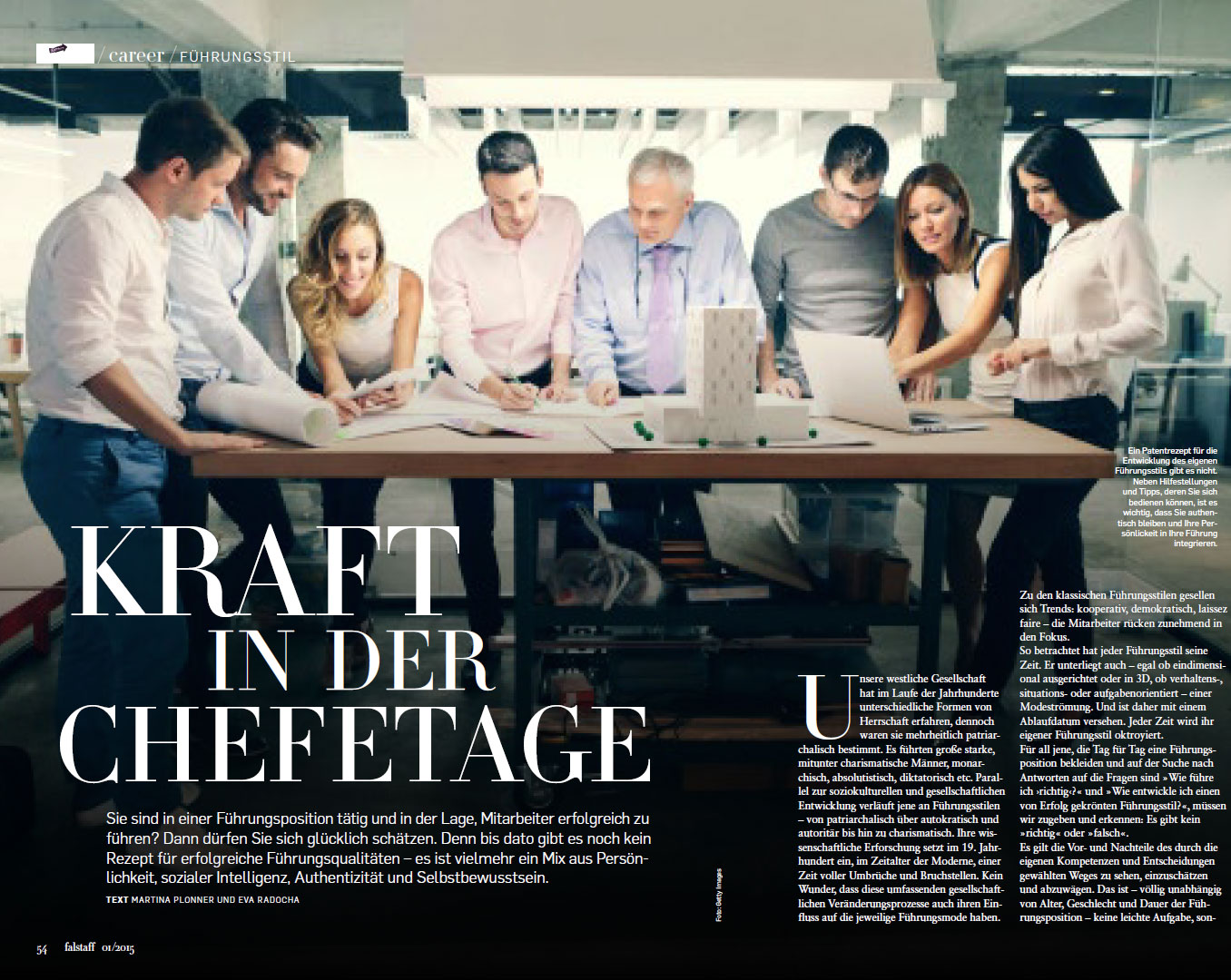 Career - Kraft in der Chefetage